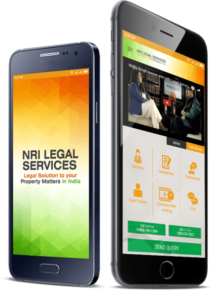 Mobile app of NRI Legal Services