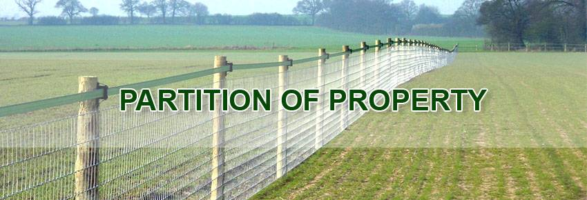partition-of-property