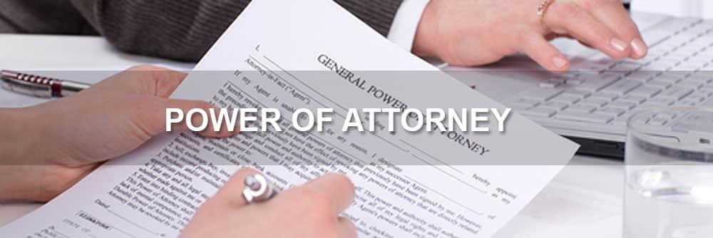 checked handing power attorney