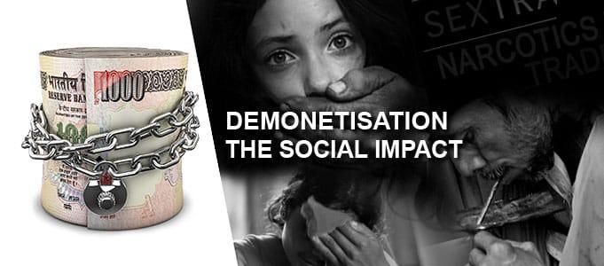 DEMONETISATION SOCIAL IMPACT
