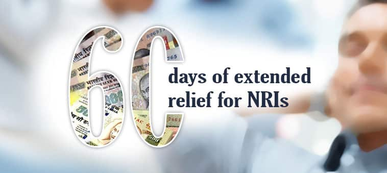 Demonetisation Sixty days of extended relief for NRIs
