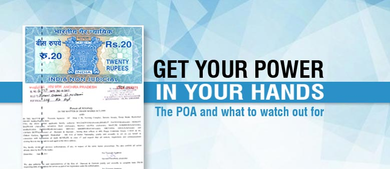 POA Power of Attorney document