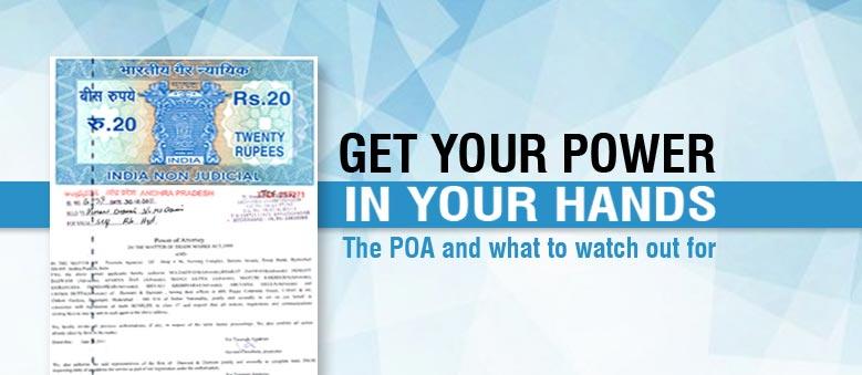 POA Power of Attorney document
