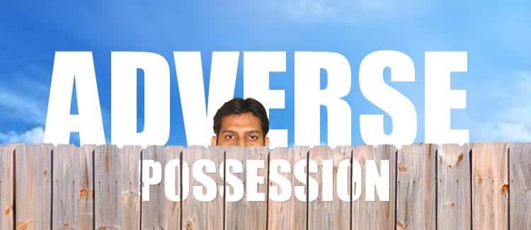 adverse possession
