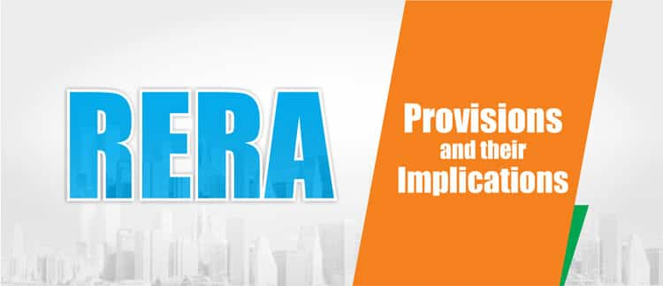 all about RERA in India Provisions and Implications