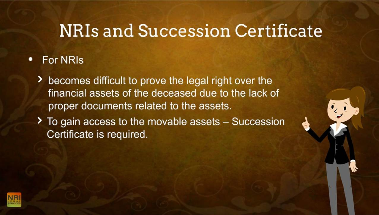 NRIs and Succession Certificate