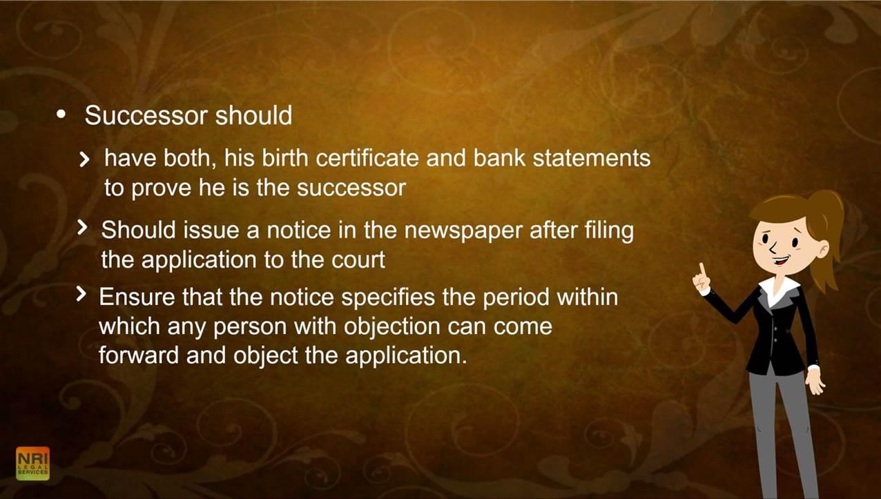Obtaining Succession Certificate