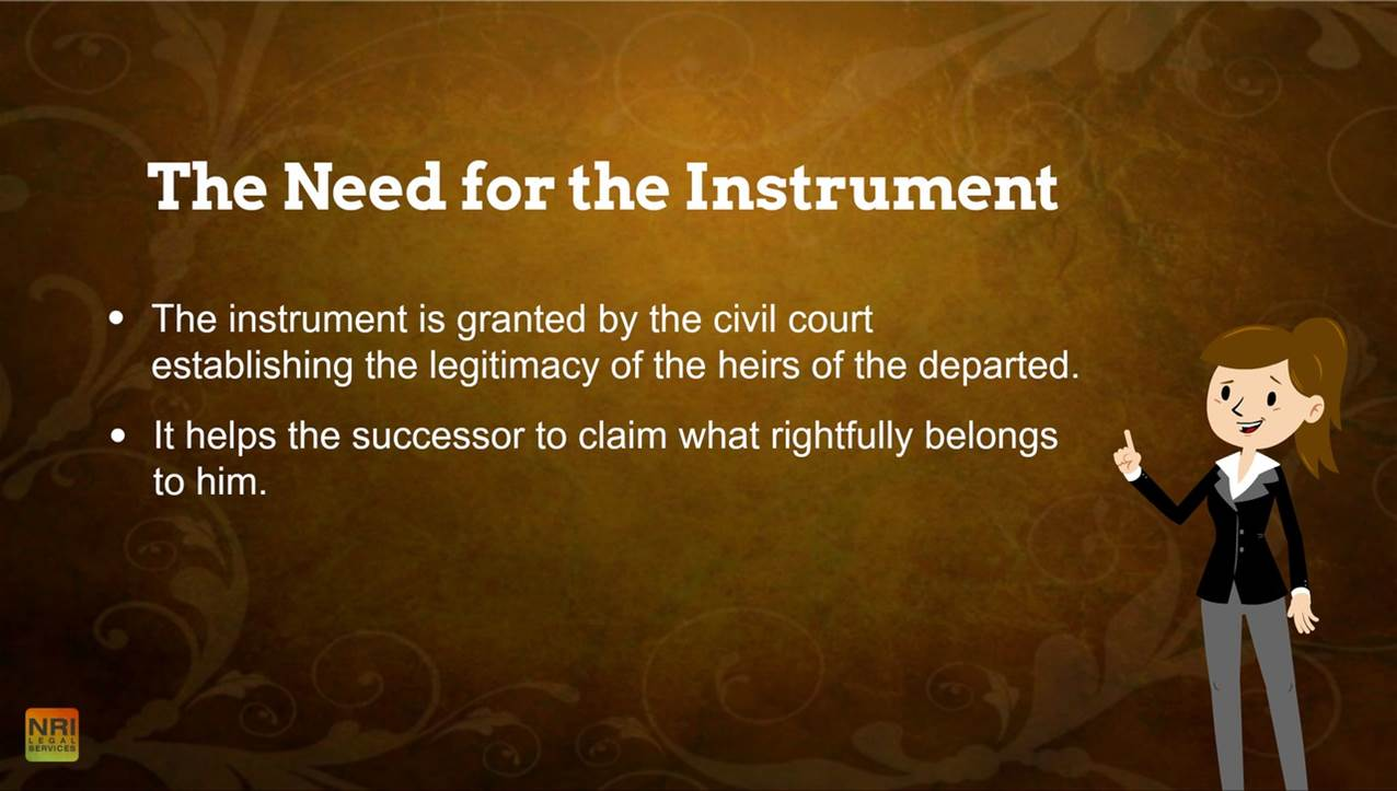 The Need for the Instrument