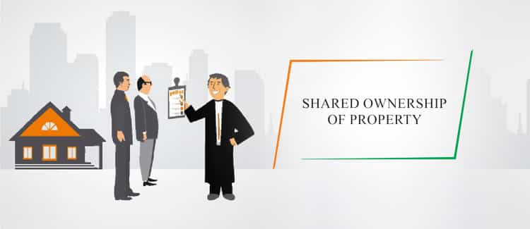 shared ownership of property in India
