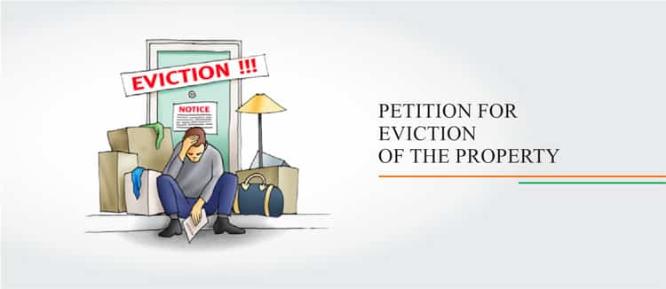 eviction petition format india