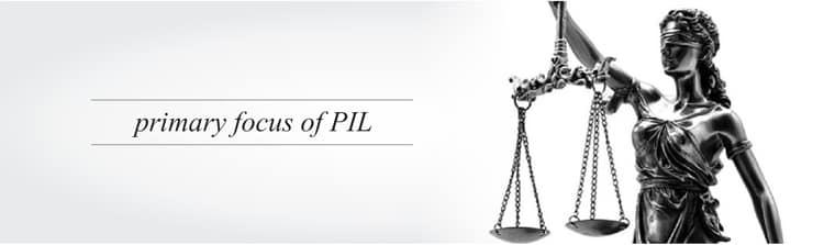 Primary focus PIL