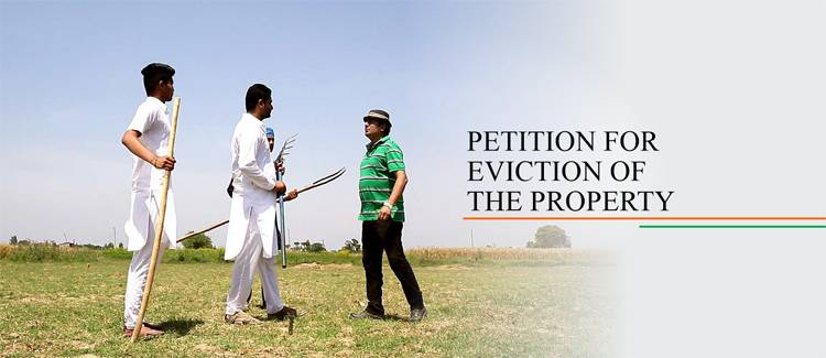 Petition for eviction of property