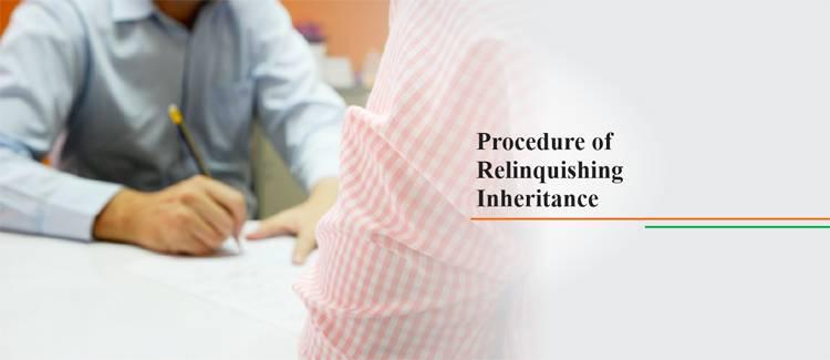 Relinquishing Inheritance