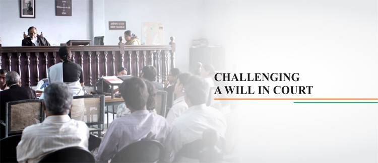 Challenging a will in the court