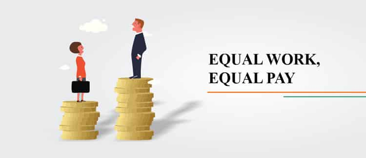 EQUAL WORK EQUAL PAY