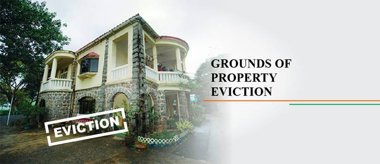 grounds of property eviction
