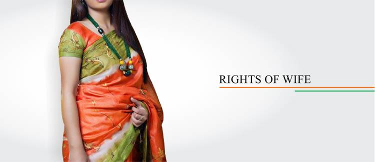 Legal Rights of wife in India