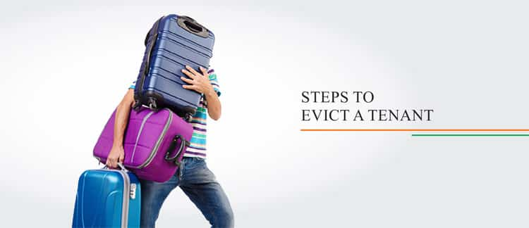 Steps to evict a tenant in India