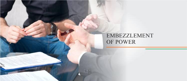 Embezzlement of Power