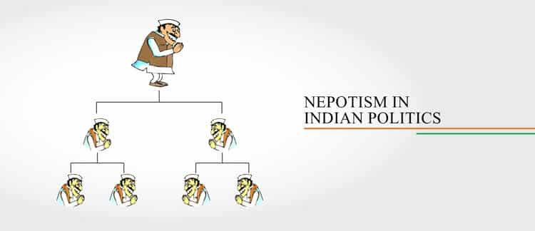 Nepotism in Indian politics