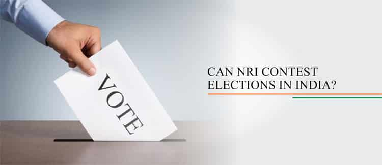 can nri contest elections in india