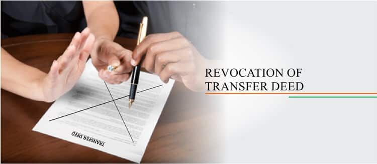 revocation of transfer deed