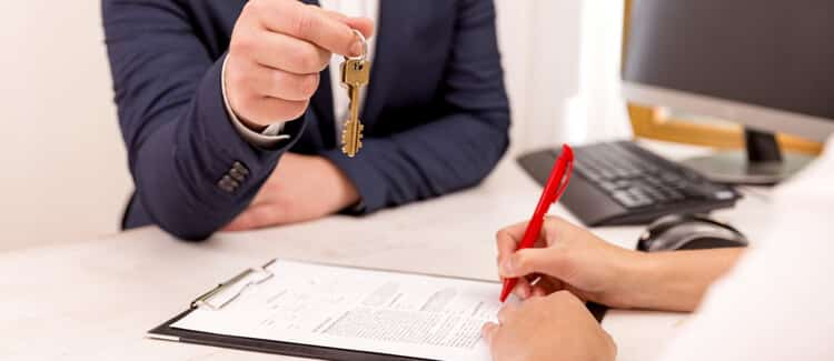 Lease or rent agreement