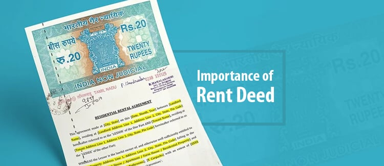 Importance Of Registration Of Rent Deed Rent Agreement