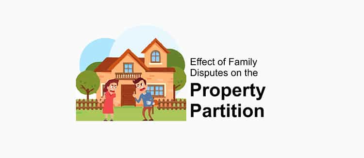 Effects of Family Disputes on the Partition of Property in India