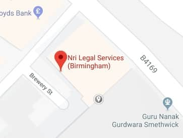 NRI Legal Services office in Birmingham