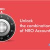 NRO Account steps details requirements