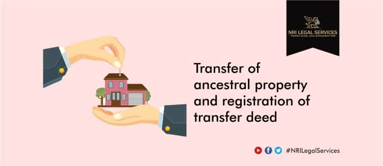 Transfer-of-ancestral-property-and-registration-of-transfer-deed-India