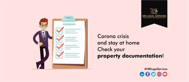 Corona crisis and stay at home - check your property documentation