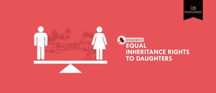 Equal inheritance rights to daughters